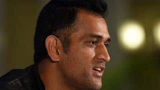At Event in Mumbai, MS Dhoni Predicts Question on Sabbatical, Tells Reporter Don't Ask Anything Till January