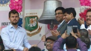 'Stood There, Looked Stupid': Magnus Carlsen Shares Experience Of Ringing Ceremonial Bell In Day-Night Test