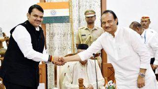 Maharashtra Crisis: Deputy CM Ajit Pawar Resigns Ahead of Crucial Floor Test; CM Fadnavis Addresses Media