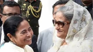 Ind v ban day night test mamta banerjee sheikh haseena bell to starts kolkata test match
