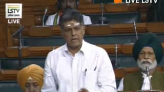 'In Multiparty Democracy, SPG Should be Kept Above Party Biases,' Says Manish Tewari in Lok Sabha