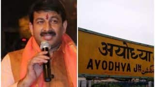 मनोज तिवारी ने विमानन मंत्री को लिखा पत्र, अयोध्या में अंतरराष्ट्रीय हवाई अड्डा बनाने की मांग