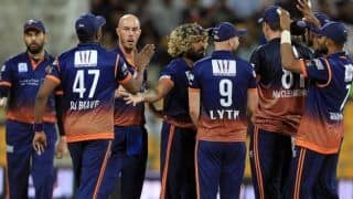 Abu dhabi t10 final yuvraj singhs maratha arabians team wins over deccan gladiators by 8 wickets in final
