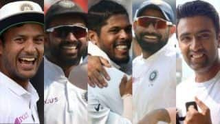 India vs bangladesh 2019 indore test mayank agarwal umesh yadav mohammad shami ajinkya rahane r ashwin star as india crush bangladesh