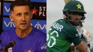 Michael hussey babar azam can reach level of virat kohli and steve smith