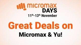 Micromax DAYS Sale On Flipkart Live: 7 हजार से कम में मिल रहे हैं माइक्रोमैक्स और Yu के ये छह स्मार्टफोन