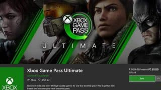 Microsoft offering 3 months of Xbox Game Pass Ultimate for Rs 50 a month