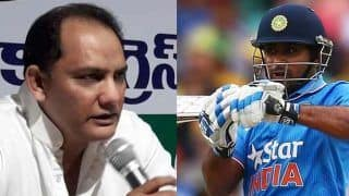 Ambati rayudu is a frustated cricketer mohammad azharuddin