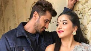 Bhojpuri Hot Bomb Monalisa Shares Romantic Picture With Malhar Pandya Aka Singha And It Will Get You Excited For Nazar