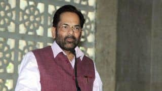 Centre Has Granted Rs 16 Crore to J-K, More Developmental Initiatives Will be Taken,    Says Naqvi in Srinagar