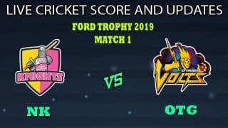 CD vs OTG Dream11 Team Prediction Ford Trophy 2019-20: Captain And Vice-Captain, Fantasy Cricket Tips Central Districts vs Otago Volts Match 22 at University Oval, Dunedin 3:30 AM IST