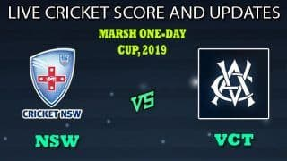 New South Wales vs Victoria Dream11 Team Prediction Marsh One-Day Cup 2019: Captain And Vice-Captain, Fantasy Cricket Tips NSW vs VCT Match 17 at MCG, Melbourne 8.30 AM IST