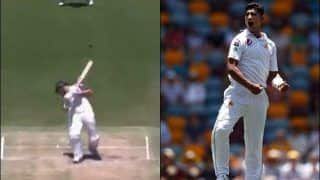 Naseem Shah Gets Maiden Test Wicket of Centurion David Warner With a Lethal Bouncer at Gabba | WATCH VIDEO