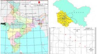 केंद्र सरकार ने जारी किया देश का नया मानचित्र, नक्शे में POK के हिस्से को भी कश्मीर क्षेत्र में दर्शाया