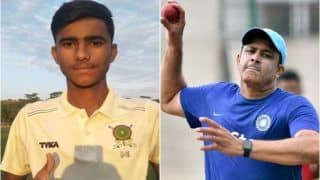 Meghalaya's Nirdesh Baisoya Emulates Anil Kumble's Record, Grabs All 10 Wickets in an Innings in U-16 Vijay Merchant Trophy