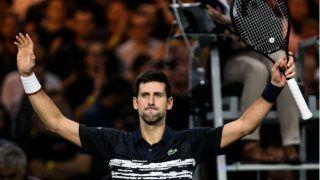 नंबर एक टेनिस खिलाड़ी नोवाक जोकोविच ने जीता पांचवां पेरिस मास्टर्स खिताब