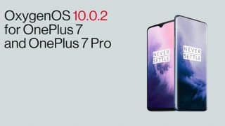 OnePlus 7, OnePlus 7 Pro OxygenOS 10.0.2 update rolling out with camera improvements and other fixes