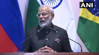 PM Modi Urges BRICS Nations to Join For Disaster Resilient Infrastructure
