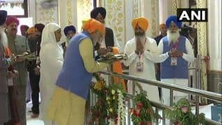 Kartarpur Corridor to be Inaugurated Today; PM Modi Pays Obeisance at Ber Sahib Gurudwara in Sultanpur Lodhi