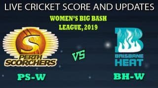 Perth Scorchers Women vs Brisbane Heat Women Dream11 Team Prediction Women's Big Bash League 2019: Captain And Vice-Captain, Fantasy Cricket Tips PS-W vs BH-W Match 37 Match at Drummoyne Oval, Sydney 4.30 AM IST