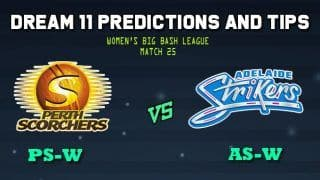 PS-W vs AS-W Dream11 Team: Perth Scorchers Women vs Adelaide Strikers Women