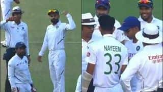 'Spirit of Cricket': India Physio Attends Nayeem After Nasty Hit on Helmet | WATCH