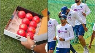 BCCI Give Fans Glimpse of Pink Ball Ahead of Day/Night Test vs Bangladesh, Netizens React | WATCH VIDEO
