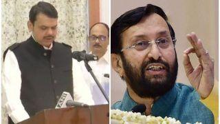 महाराष्ट्र में देवेंद्र फड़णवीस की अगुवाई में नई सरकार का गठन जनादेश की विजय: जावडे़कर