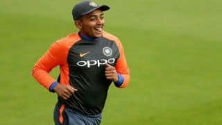 Prithvi Shaw Included in Mumbai Squad, Eligible to Play From November 17