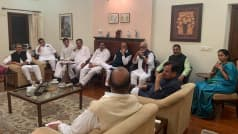 Congress, NCP Leaders Meet Amid Uncertainty Over Maha Govt Formation, Outcome Likely Soon