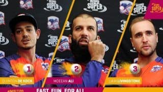 Mzansi Super League 2019 Full Schedule: Fixtures, Venue, Timings - All You Need to Know