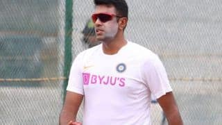 Indvban 1st test ravichandran ashwin 1 wicket behind in completing 250 in india away to join elite anil kumble harbhajan singh