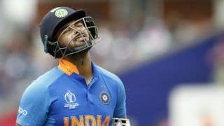 Rishabh pant is pressuring himself trying to take ms dhonis place msk prasad