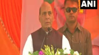 'Grand Ram Temple Will be Built in Ayodhya, no World Power Can Stop it,' Says Rajnath in Jharkhand