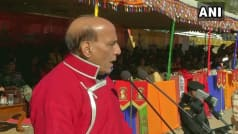 People Living in Border Areas Are India   s Strategic Assets,    Says Rajnath Sigh in Tawang