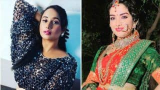 Bhojpuri Bombshell Amrapali Dubey Wishes Rani Chatterjee 'Happy Birthday' With an Adorable Post