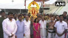 आज रिटायर होंगे रंजन गोगोई, पत्नी के साथ पहुंचे मंदिर, अयोध्या ही नहीं अनुशासन के लिए भी रहेंगे याद