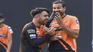 Rashid Khan, Irfan Pathan Bond Over Yusuf Pathan's One-Handed Stunning Catch During Baroda vs Goa Match in Syed Mushtaq Ali Trophy 2019-20 | WATCH VIDEO