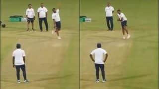 Ravichandran Ashwin Emulates Sanath Jayasuriya, Bowls With Left Hand And Pink Ball Ahead of Historic Day/Night Test Against Bangladesh at Eden Gardens | WATCH VIDEO
