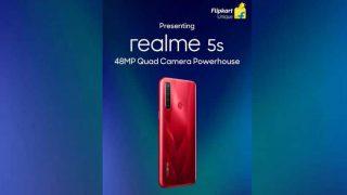 Realme 5s Teaser on Flipkart : रियलमी भारत में 48MP कैमरा के साथ 20 नवंबर  को लॉन्च करेगा नया Realme 5s स्मार्टफोन