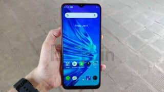 Realme 5s first impressions: 48-megapixel quad-camera setup at Rs 9,999