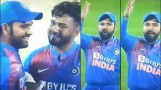 Rohit Sharma Loses Cool, Abuses Third Umpire During 2nd T20I Between India-Bangladesh at Rajkot After Wrong Decision | WATCH VIDEO