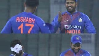Rohit Sharma's Funny Reaction After Rishabh Pant And India Lose DRS Against Bangladesh in 1st T20I is Unmissable | WATCH VIDEO