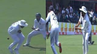 Rohit Sharma Drops an Easy Catch in Slips During 1st Test Between India-Bangladesh, Then Takes a Sharp Catch to Send Mahmadullah Packing on Day 3 | WATCH VIDEO