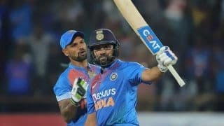 2nd T20I Report: Rohit Guides India to Series-Levelling Win, Thump Bangladesh by 8 Wickets in Rajkot