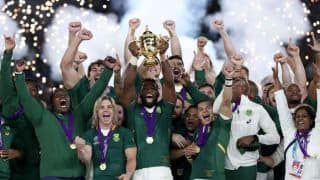 South Africa Win Third Rugby World Cup, Thrash England 32-12 in Final