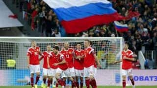 Russia's Football Authorities Snub Adidas Shirts With Upside-Down Flag