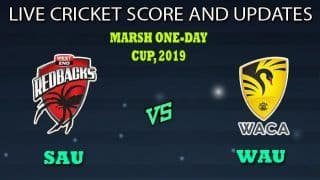 South Australia vs Western Australia Dream11 Team Prediction Marsh One-Day Cup 2019: Captain And Vice-Captain, Fantasy Cricket Tips SAU vs WAU Match 18 at Karen Rolton Oval, Adelaide 5.00 AM IST