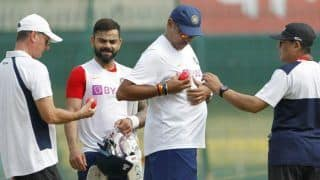 Team indias coach ravi shastri pink ball needs to be tested more