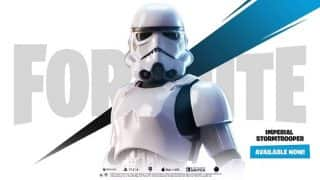 Fortnite is getting limited time Imperial Stormtrooper costumes